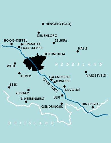 Huisartsenzorg Oude IJssel Werkgebied