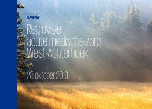 Regiovisie acute medische zorg West-Achterhoek